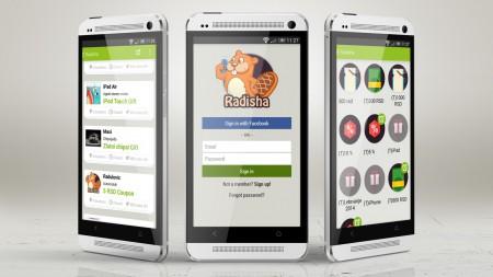 Radisha Android app